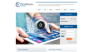 Mindhome screenshot